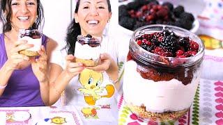 Cheesecake Light Ai Frutti Di Bosco Velocissima!!!| Carlitadolce