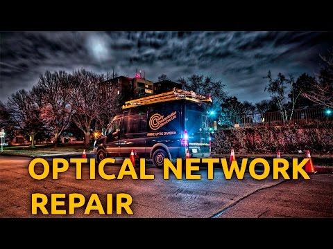 Trinity Communication Services Ltd  Optical Network Repair Video