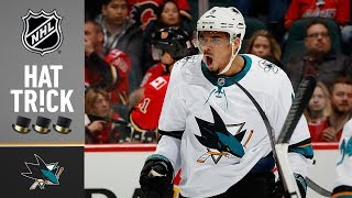 Evander kane leads the way for sharks with a career-high four goals, spurring them to big 7-4 win against flamesfor latest hockey action, subsc...