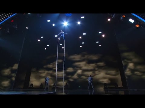America's Got Talent 2015 S10E17 Live Shows - Uzeyer Novruzov Classic Acrobat Stage Performer