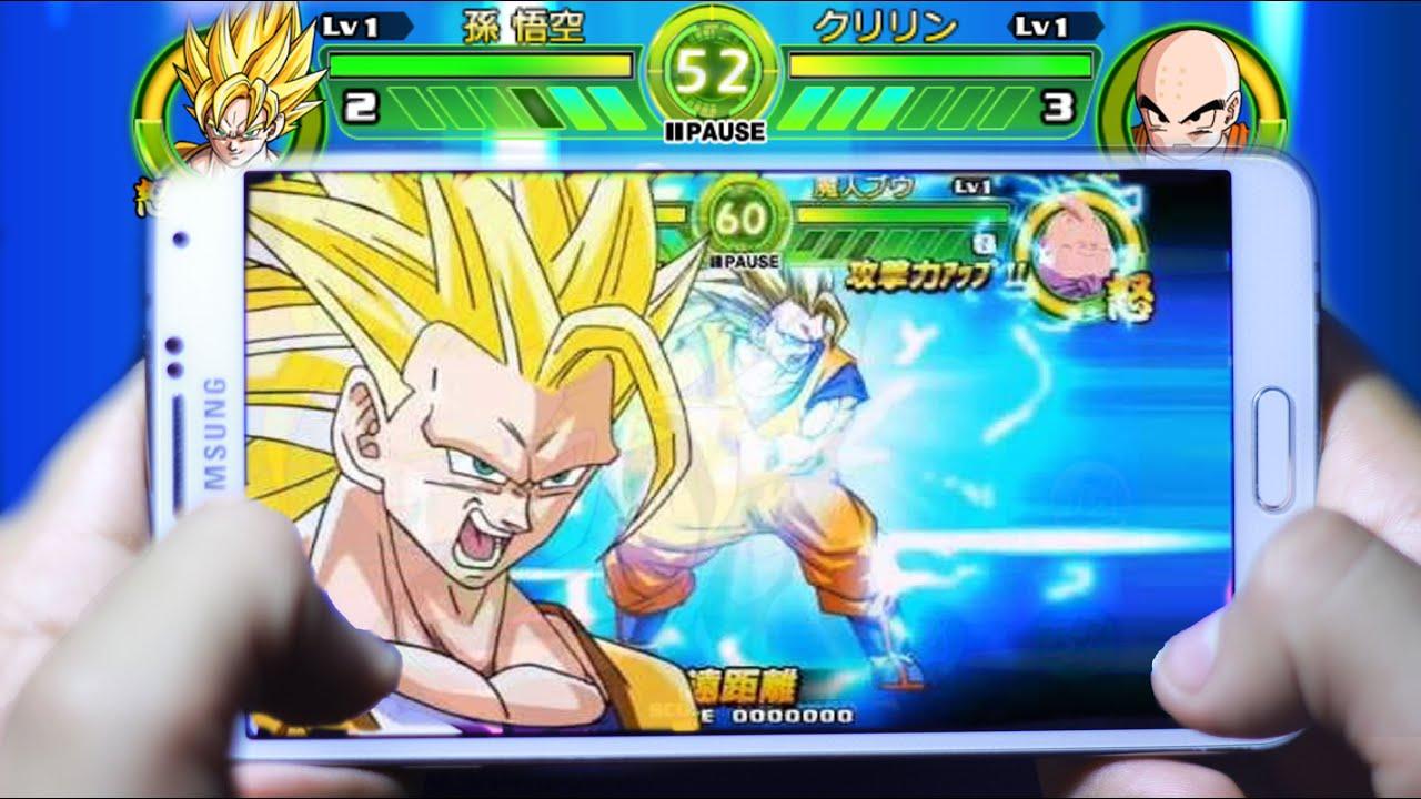 Dragon Ball Z Mejores Juegos Para Movil Combate Running Tu