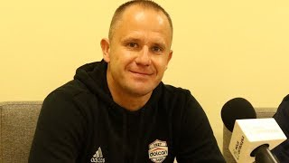 Michał Pulkowski (Dolcan Ząbki) po meczu z Koroną Ostrołęka
