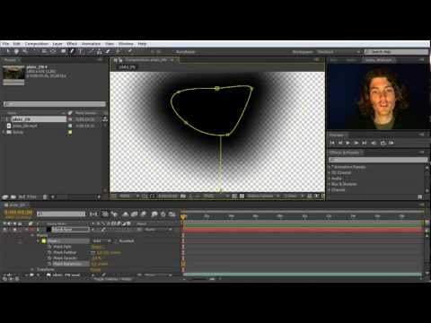 After Effects Beginner Tutorial: Guru Lesson 3 (Masks and Adjustment Layers)