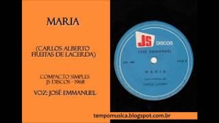 Maria por José Emmanuel - 1968