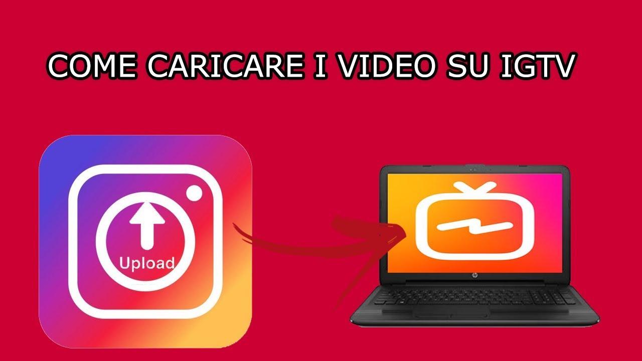 Come caricare video orizzontali su IGTV