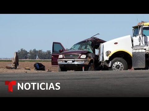 Accidente de tráfico en California deja al menos 13 muertos | Noticias Telemundo