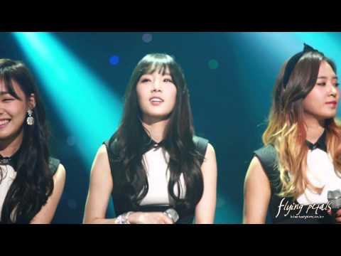 [Fancam] 140311 Taeyeon - Goodbye (band ver.) (flying petals)