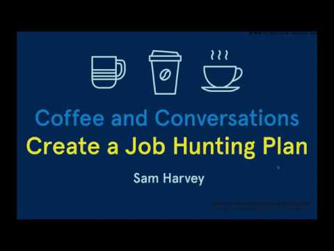 Coffee & Conversations: Create a Job Hunting Plan