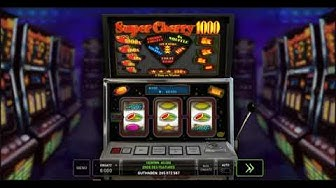 Super Cherry 1000 kostenlos spielen - Novomatic / Novoline