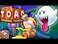 Captain Toad Treasure Tracker Boo Mansion Snow Train HD Gameplay Walkthrough Wii U  Episode 1 PART 4
