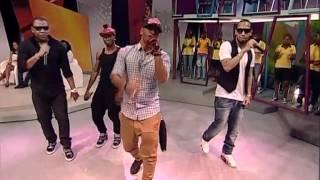 Zona 5 ft Anselmo Ralph -  Eu sou sortudo | Zimbando | Tv Zimbo