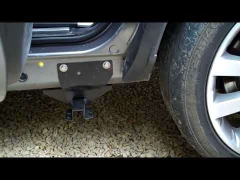 How To Fit Side Steps On Range Rover Sport ( Part 2 )