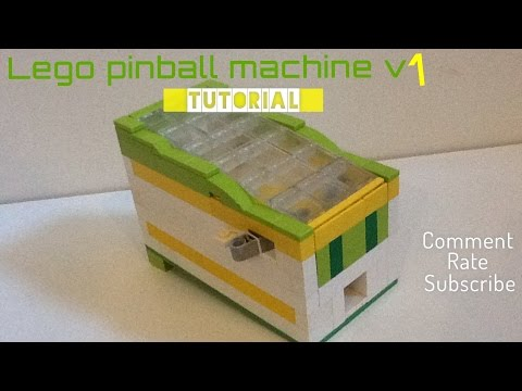 Lego pinball machine mini tutorial