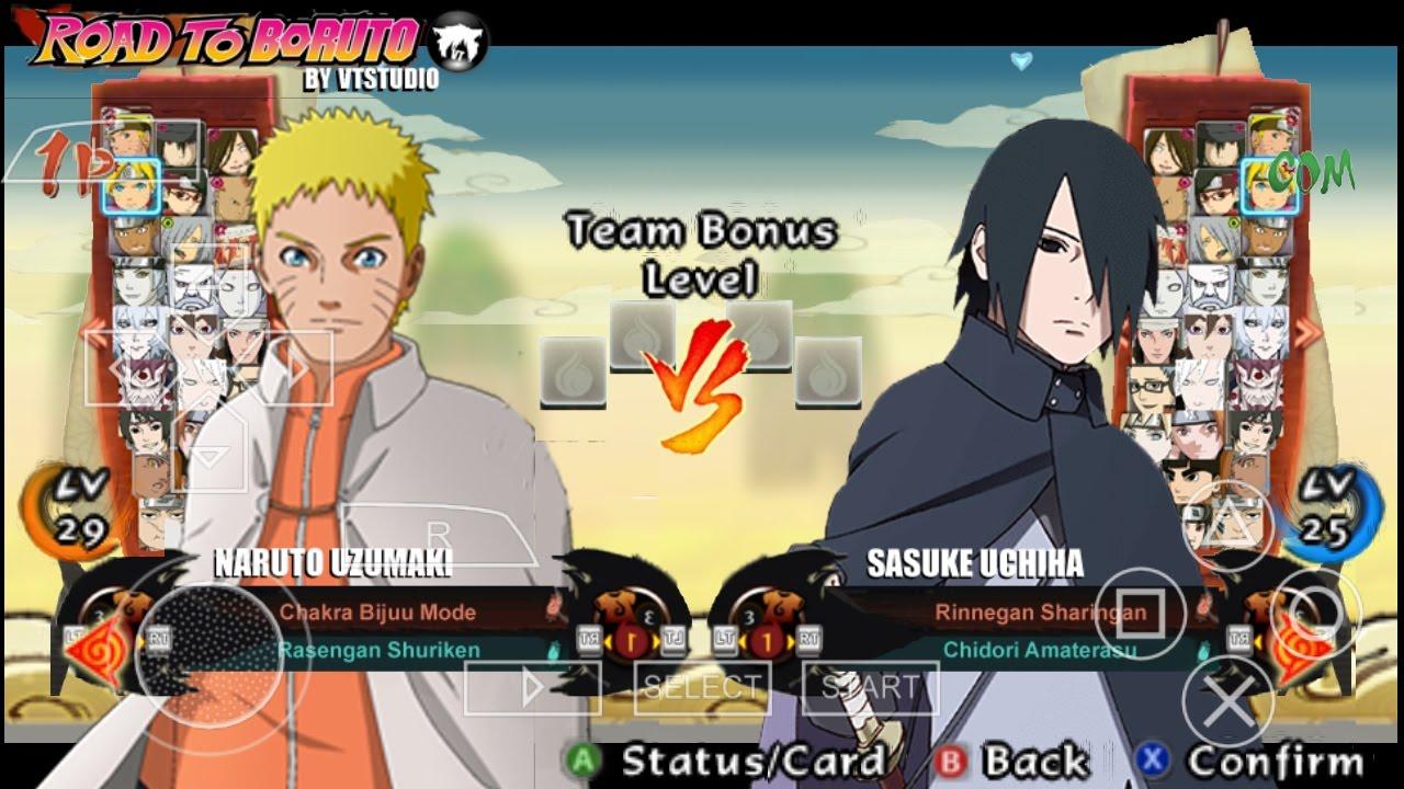 Naruto shippuden ultimate ninja impact mod