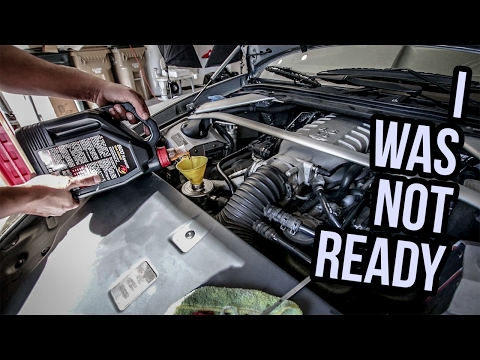 Changing The Oil In My Aston Martin Was Way Harder Than I Thought