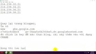 [North Studio] Hướng dẫn trỏ Domain Freenom/Domain miễn phí về Blogger(Chi tiết)