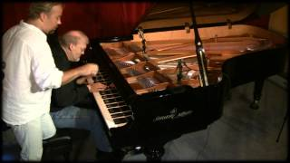 Near Eclipse - David Nevue & Joe Bongiorno piano duet - Shigeru Kawai SK7L Piano Haven