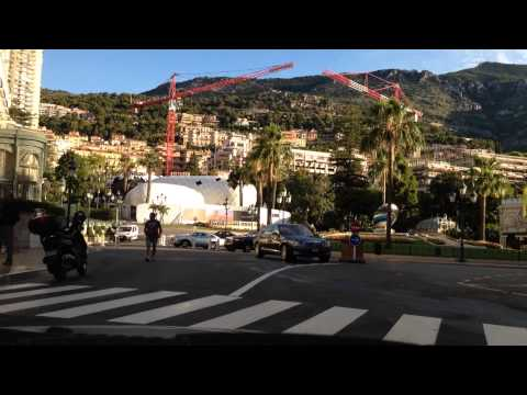 Monaco Grand Prix circuit on a normal day