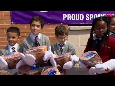 Stop and Shop Donates 1000 Hams for Those in Need