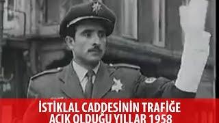 Gambar cover İstiklâl'in trafiğe açık zamanları - İstiklal caddesi istanbul 1958