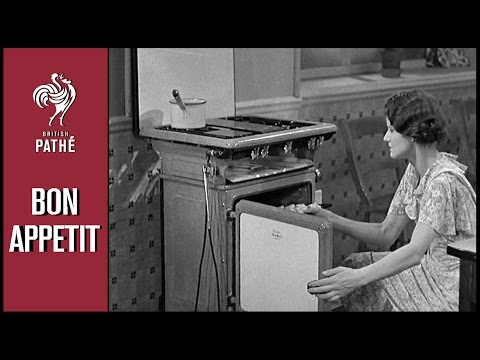 Cooking 101 | British Pathé