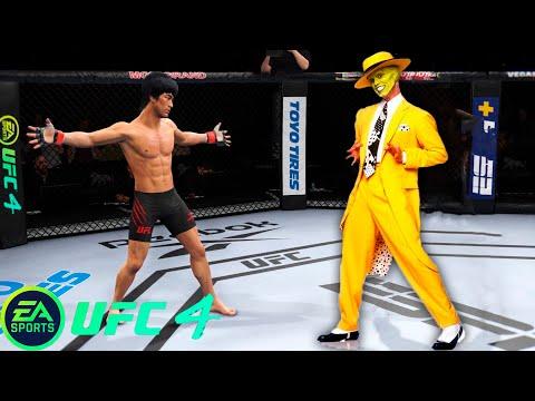UFC4 Bruce Lee Vs The Mask EA Sports UFC 4 - Epic Fight