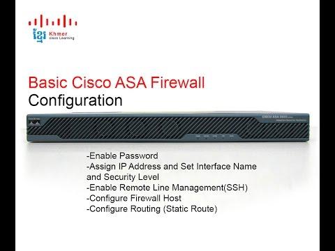 Cisco ASA Site-to-Site VPN Configuration (Command Line ...