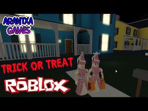 Or A Treat Voy Trick O Por Con Roblox Trato En Halloween Mi Truco Madre Pedir ybfg76