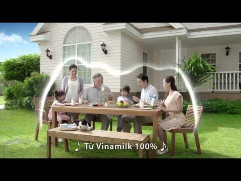 Phim quảng cáo sữa tươi Vinamilk 100% mới nhất 2015