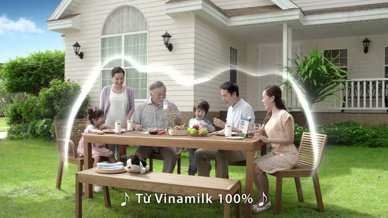 Phim quảng cáo sữa tươi Vinamilk 100% mới nhất 2015 - PQC034