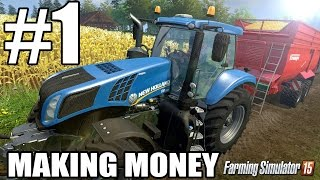 Lets Play Farming Simulator 2015 - Episode 1 - Making Money