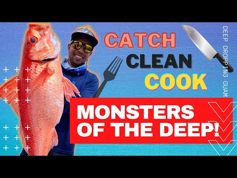 Deep Dropping For Onaga! {Catch, Clean, Cook} Guam Fishing Expeditions, The Captains Vlog Ep 4