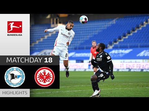 Arminia Bielefeld - Eintracht Frankfurt | 1-5 | Highlights | Matchday 18 – Bundesliga 2020/21