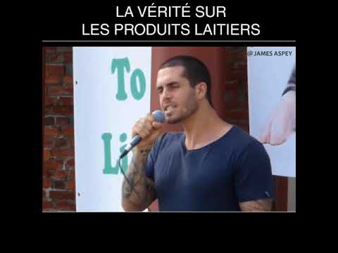 Speech Dairy Industry James Aspey - Vostfr