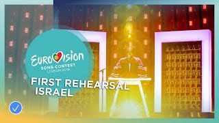 Netta - Toy - First Rehearsal - Israel - Eurovision 2018