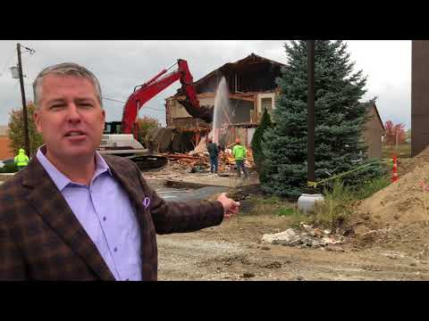 Demolition of Wagner Reese Law Office | Carmel Injury Firm Celebrates New Location