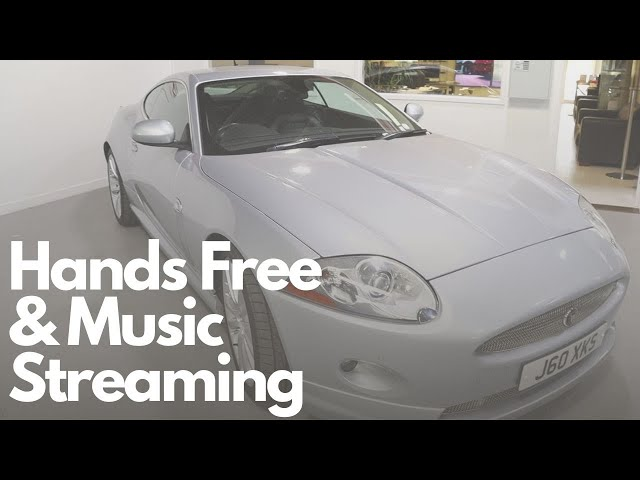 Jaguar XK DAB Antenna With Hands Free & Bluetooth Streaming