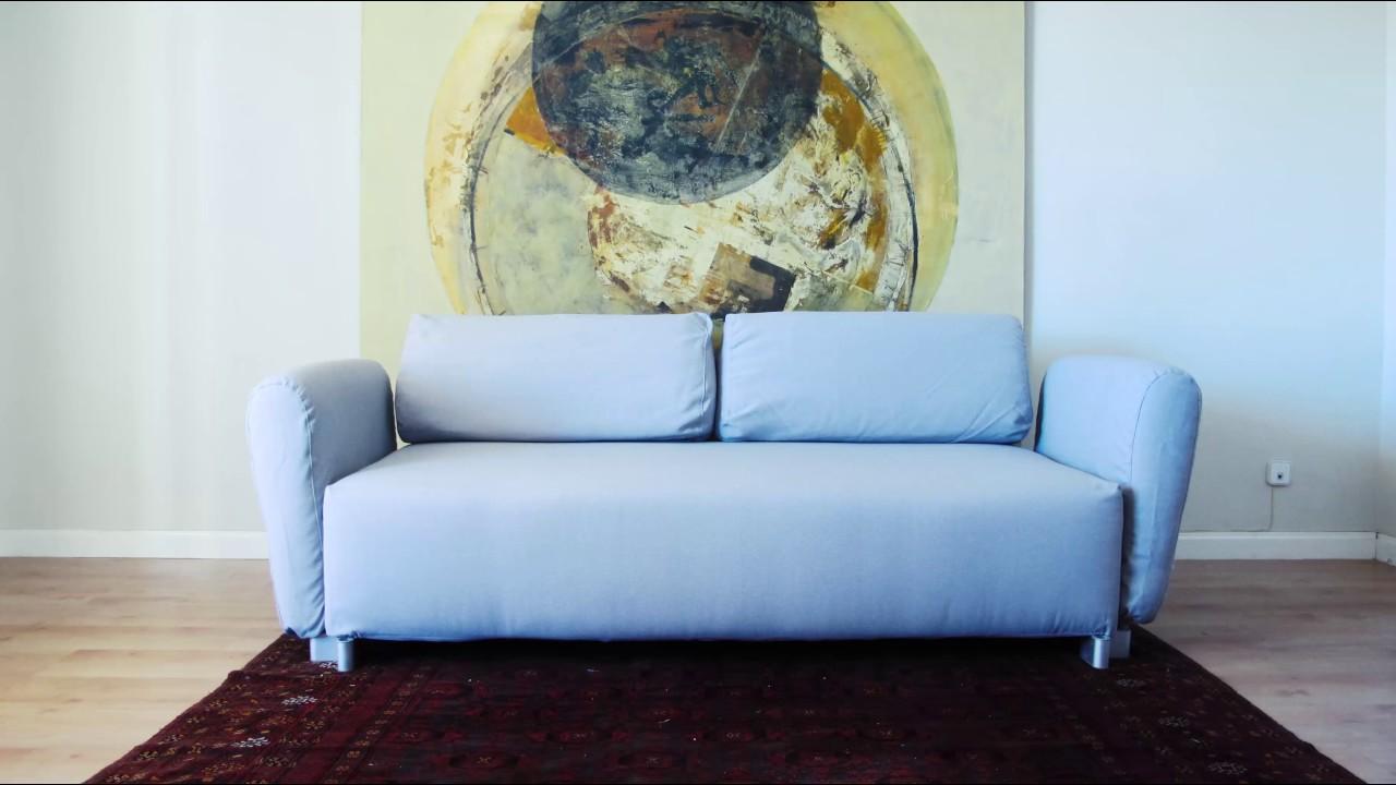Telas del sur personaliza tu sof de ikea youtube for Telas del sur