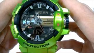 Casio g-shock bluetooth (GBA-400-3BDR) unboxing+review