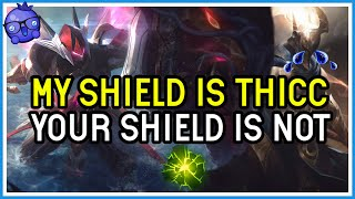 My shield is BETTER than YOURS! Leona Support V Pantheon Support - League of Legends
