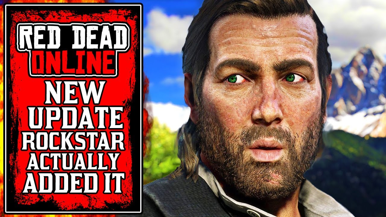 Rockstar ACTUALLY Did It.. The NEW Red Dead Online Update Today (RDR2) thumbnail