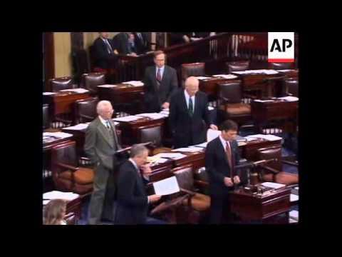 USA: WASHINGTON: BALANCED BUDGET AMENDMENT VOTE