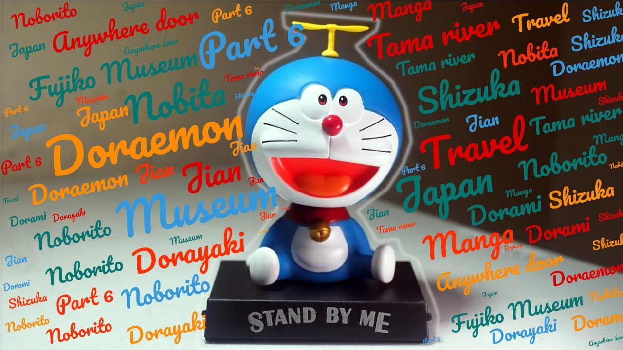 Doraemon museum  - First Time Solo Japan Travel Vlog by foreigner * Part 6 * No Talking *