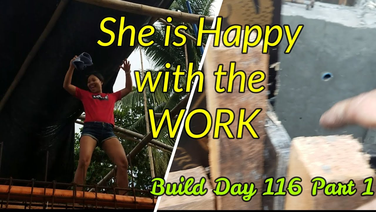 Philippines Beach House Build Day 116 Part 1: Pulling the Forms!! Tips Tips Tips