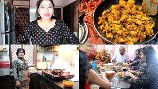 Sasural Vlog: Meri Saas Ke Haath Ki Special Besan Ki Recipe  Monsoon Special Dish  Indian Mom Studio