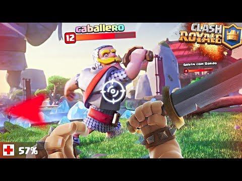 ¿¿ COMO SERÍA Clash Royale en PRIMERA PERSONA y en 3D ??