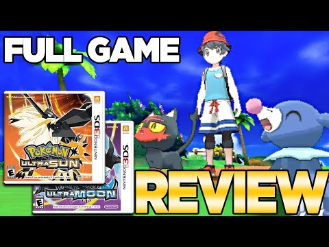 Pokemon Ultra Sun and Moon Full Game Review | Austin John Plays