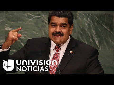 """Nicolás Maduro amenaza con anular la decisión legislativa que lo declara en """"abandono de cargo"""""""