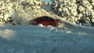 bmw x6 in snow ( lyhiklipp hd(pikemast lo