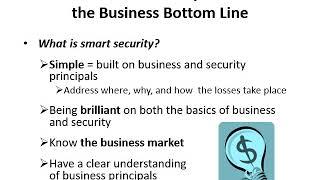 Smart Security   Practices that Increase Profits Part1